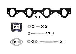 Mercruiser Exhaust Manifold 470, 170, 3 7 Litre Brand New HGE Aluminium